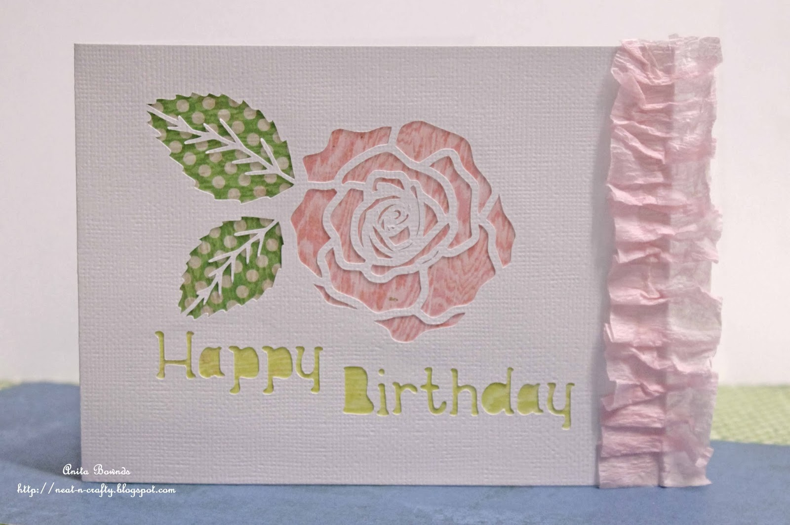 Free Simple Birthday Cards ~ Neat and crafty simple birthday card tutorial sassy scrapper