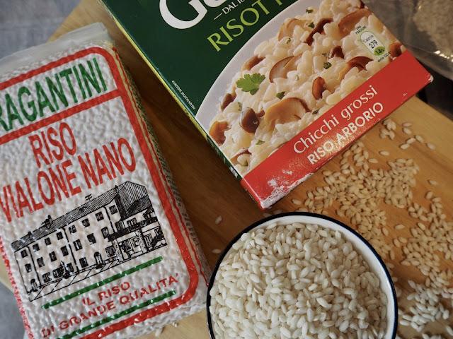 Italské risotto (rizoto) s bílým chřestem - typ rýže