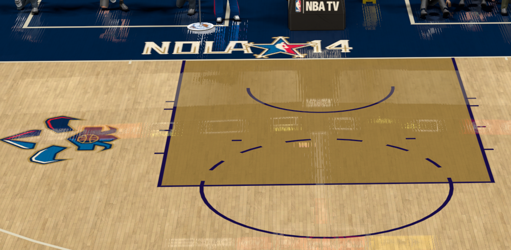 NBA 2K14 2014 AllStars Court Mods