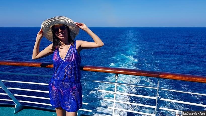 Roteiro de 8 dias no cruzeiro pelo Caribe  - navio Monarch