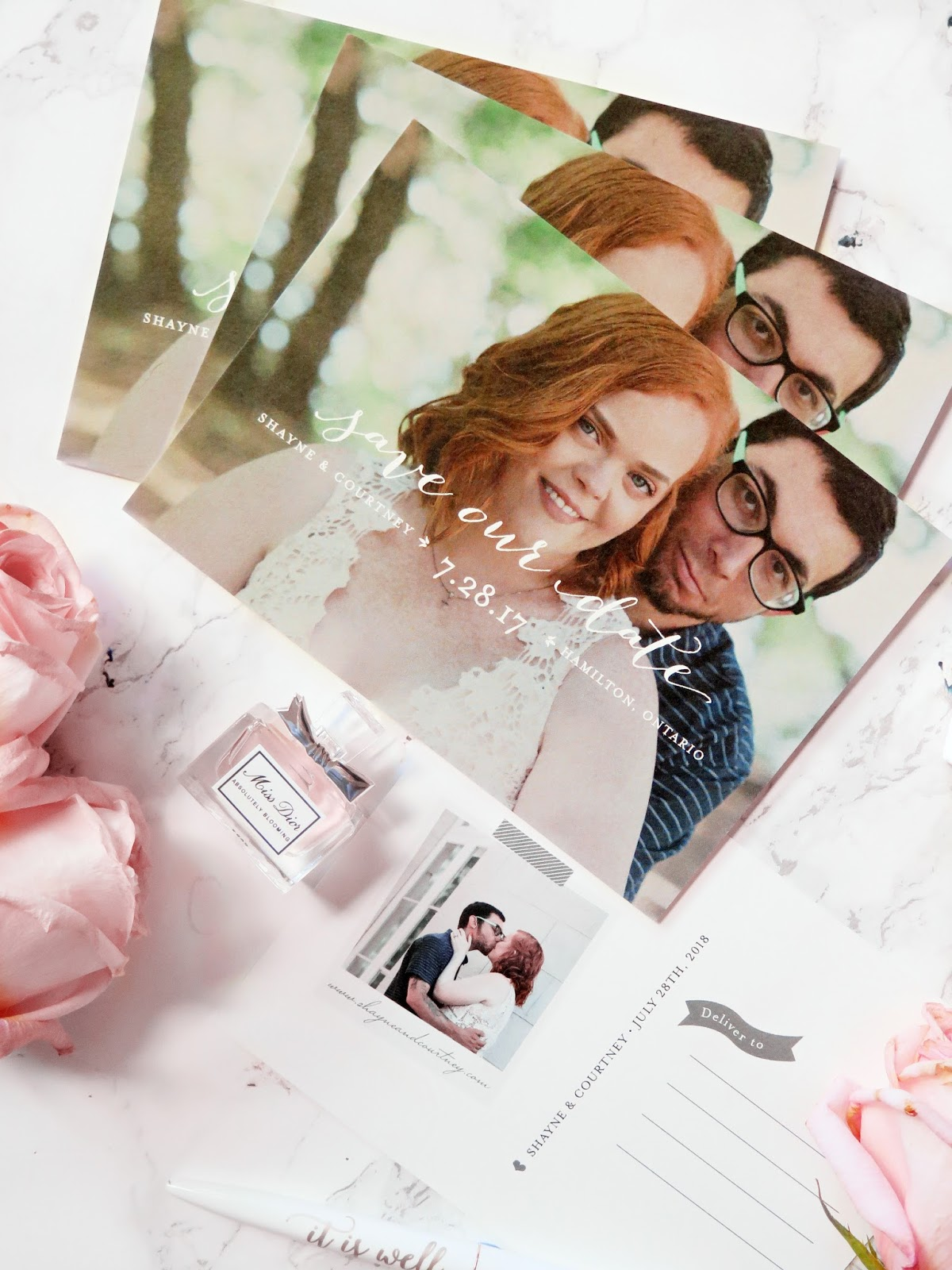 Wedding Wednesday | Finding The Perfect Save The Dates With Minted | labellesirene.ca