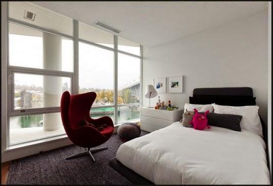 apartamentos decorados Casa contempor%C3%A2nea com design feminino
