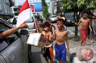 Pemkot Bandung Larang Warga Galang Dana Agustusan di Jalanan