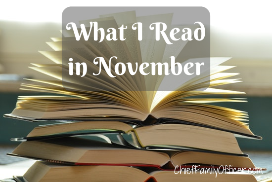 What I Read in November 2019