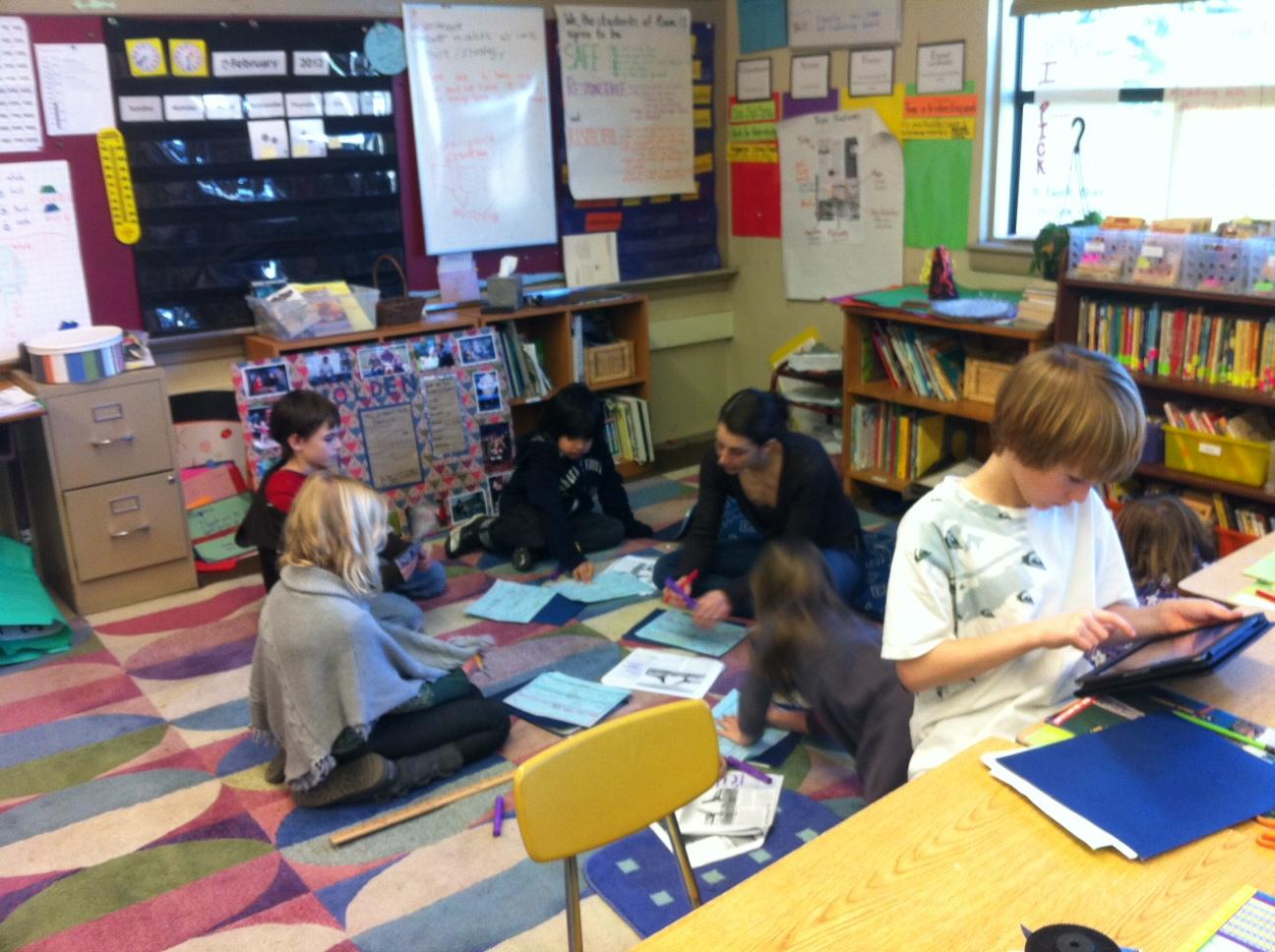 Chapman Ipad Literacy Project