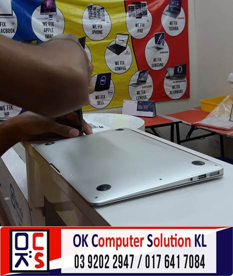 [SOLVED] MASALAH CANNOT ON MACBOOK AIR | REPAIR LAPTOP CHERAS 3