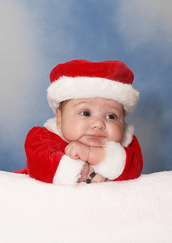 d5e54a33f Cute Pictures of Baby Santa Claus - love fashion