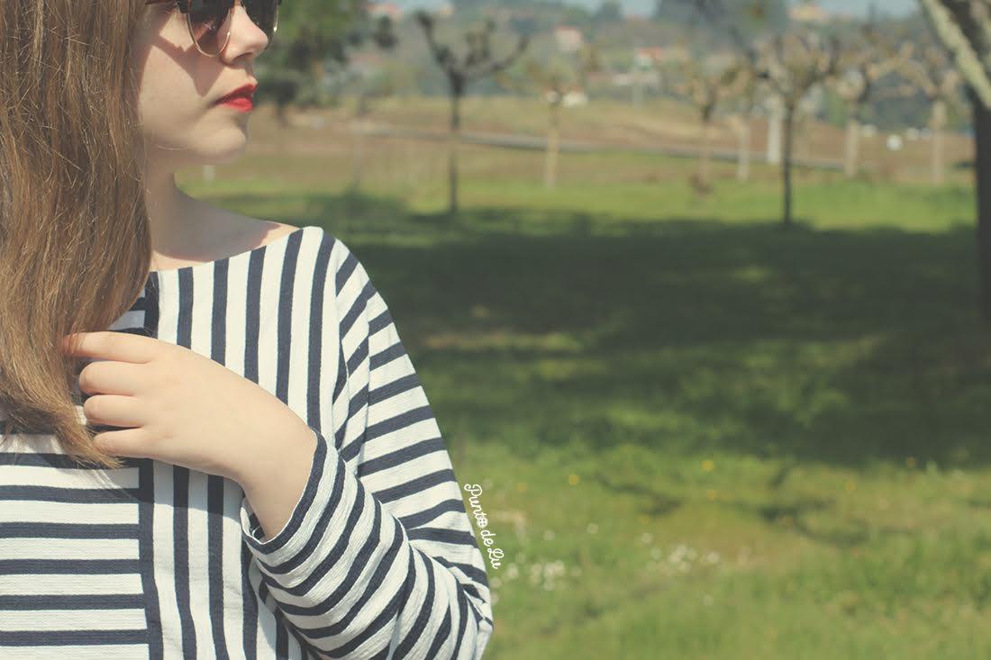 Camiseta rayas - Punto de Lu