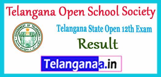 TOSS Telangana Open School Society Intermediate Result 2017
