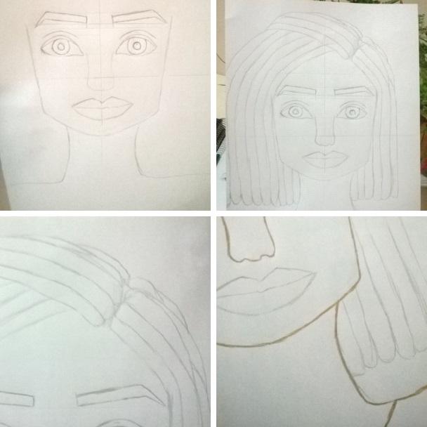 A Colecionadora De Paginas Desenho Menina Negra Com Trancas