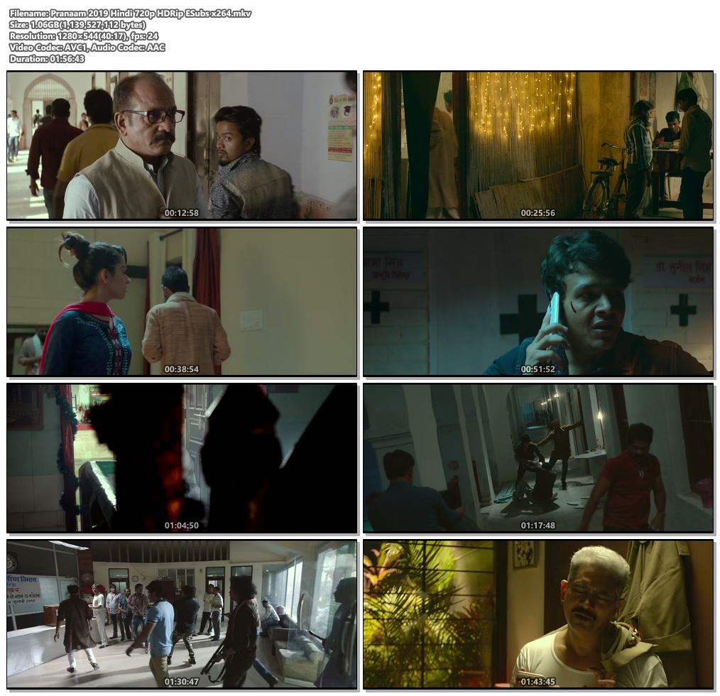 Pranaam 2019 Hindi 720p HDRip ESubs x264 | 480p 300MB | 100MB HEVC Screenshot
