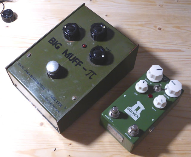 Sovtek Big Muff Bubble Font Coda Effects Dolmen Fuzz