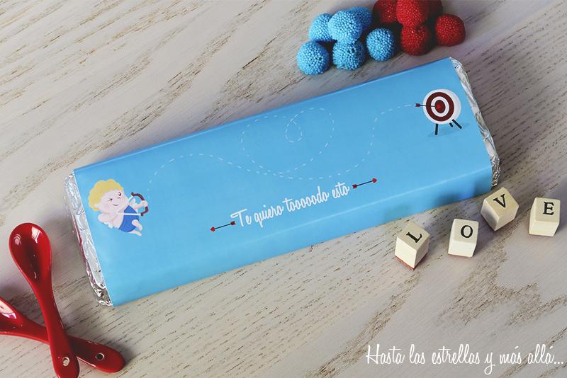 imprimible gratuito chocolatina gigante san valentin