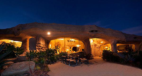 konsep rumah gua dan rumah bawah tanah