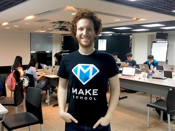 圖說:Make School創辦人羅斯曼(Jeremy Rossmann)。