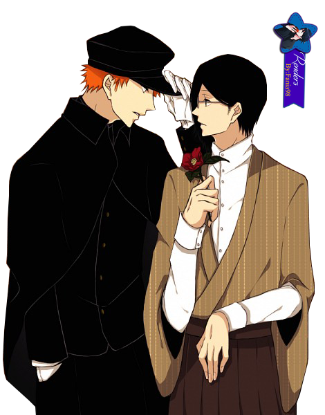 render Ichigo and Ishida
