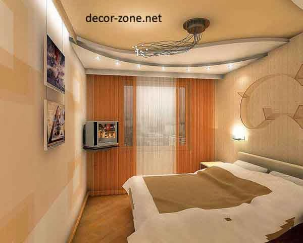 false ceiling designs for small bedrooms of gypsum