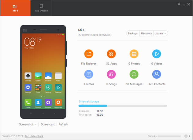 Mi PC Suite (MiPhone Manager)