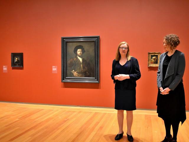 Rembrandt Unveiling at the Agnes Etherington Art Centre