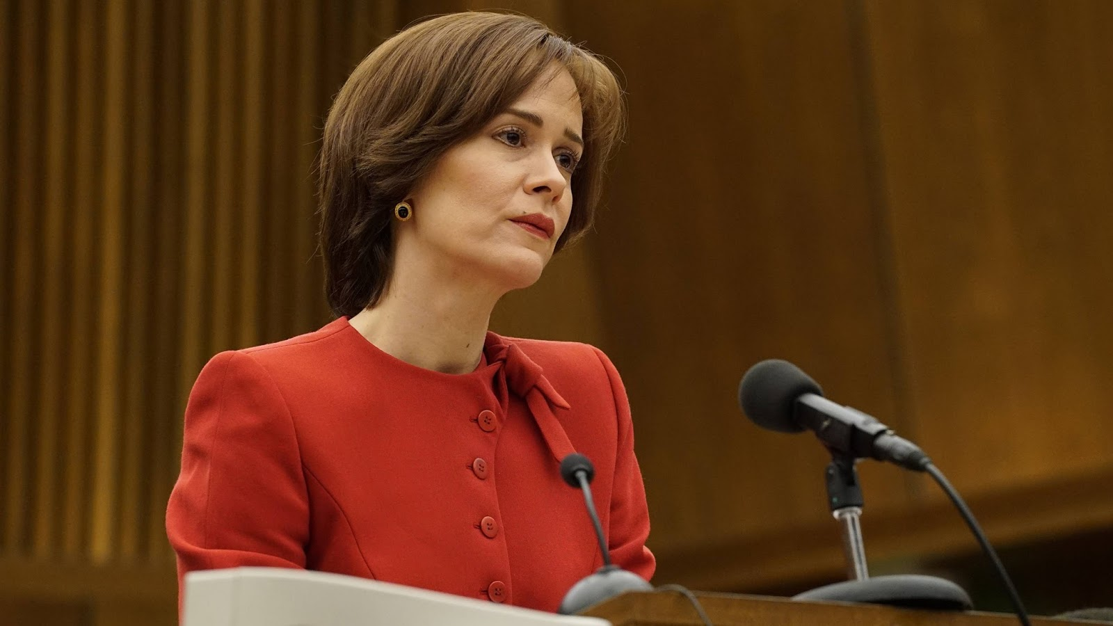 Marcia Clark, interpretada por Sarah Paulson en 'American Crime Story: The People v. O.J. Simpson'