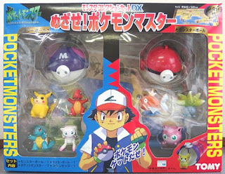 Pokemon figure Tomy Monster Collection Set DX