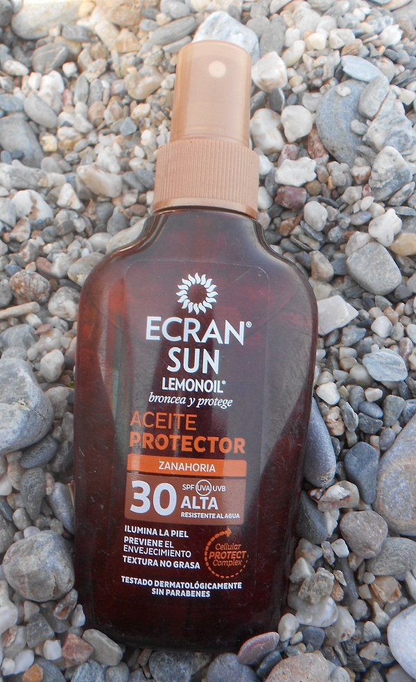 #Review sobre Ecran Sun Lemonoil oil spray.