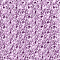 Textured Knitting 25: English Embroidery | Knitting Stitch Patterns.