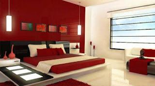 الوان غرف نوم, غرف نوم باللون الأحمر, غرف نوم, صور غرف نوم, تصاميم غرف نوم مودرن, غرف نوم لون احمر,تصميم غرف نوم