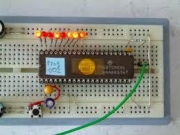 Led Dancing using microcontroller