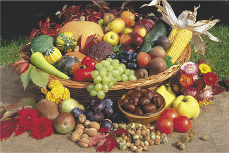Fruit, Vegetable, Nut Correspondences ~ Mom's a Witch