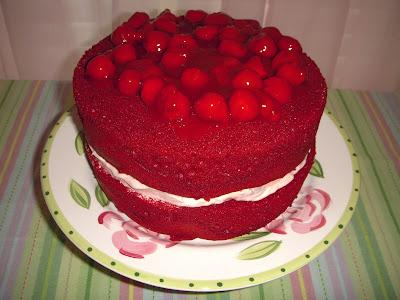 Margaret's Morsels | Cherry Chocolate Cake