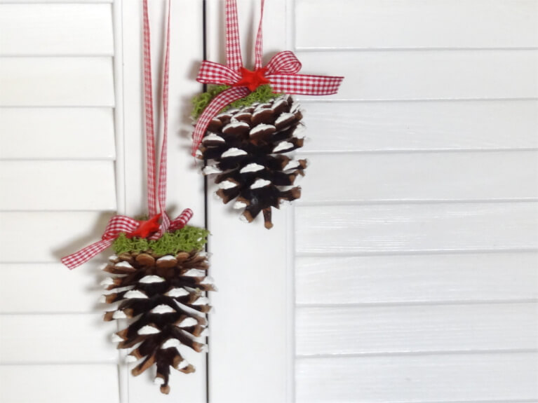 Steffis Hochzeitsblog DIY Hngende weihnachtliche