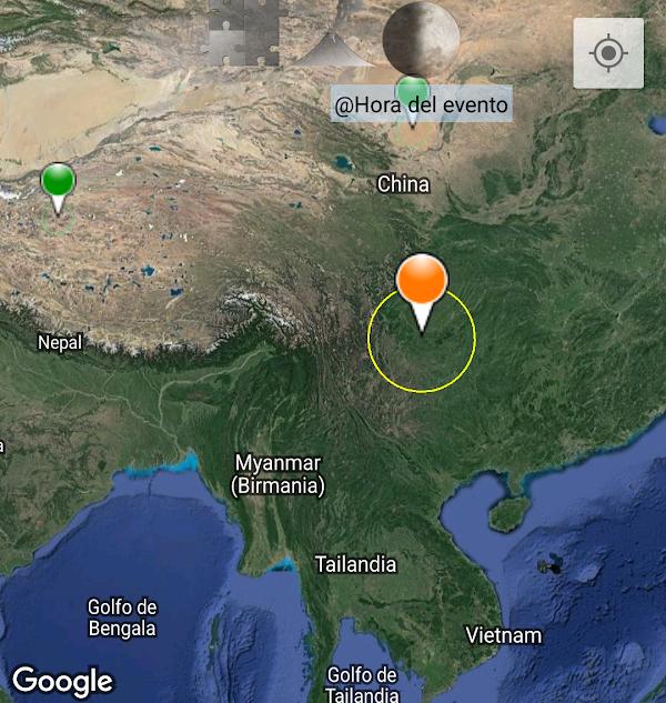 ULTIMA HORA: Reportan sismo moderado en china.