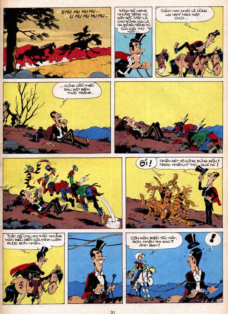 Lucky Luke tap 1 - ban tay nham trang 26