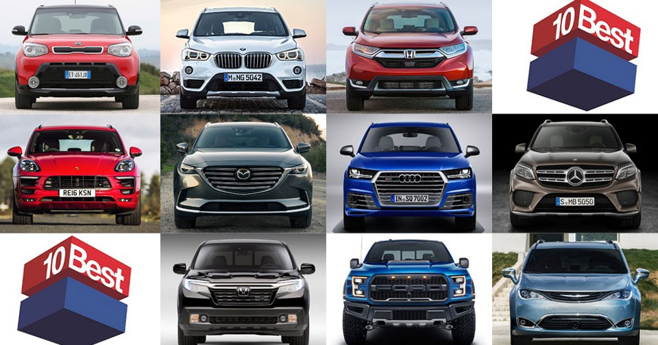 car amp driver s 10 best trucks amp suvs of the year