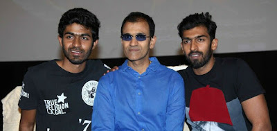 Raghavendra Rajkumar with his Sons