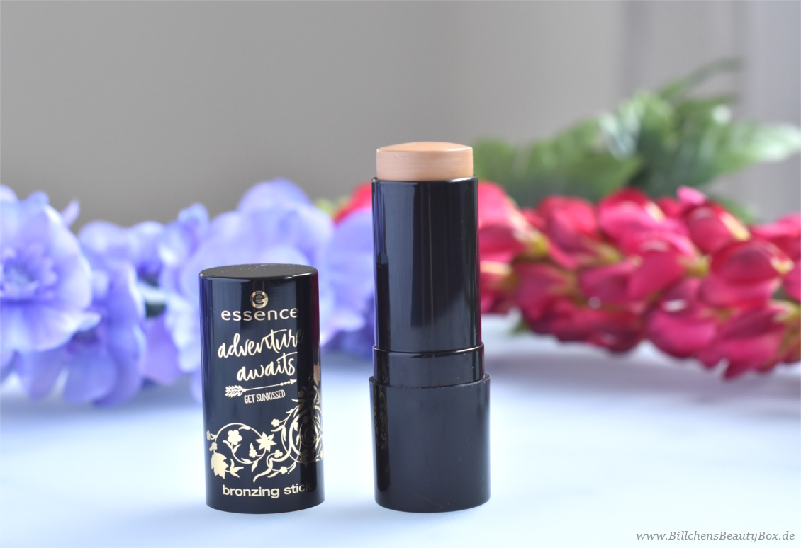 Review und Swatches - essence adventure awaits - get sunkissed Trend Edition - bronzing stick travel lover