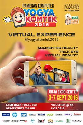 Pameran Komputer Yogyakomtek 2016 | Virtual Experince