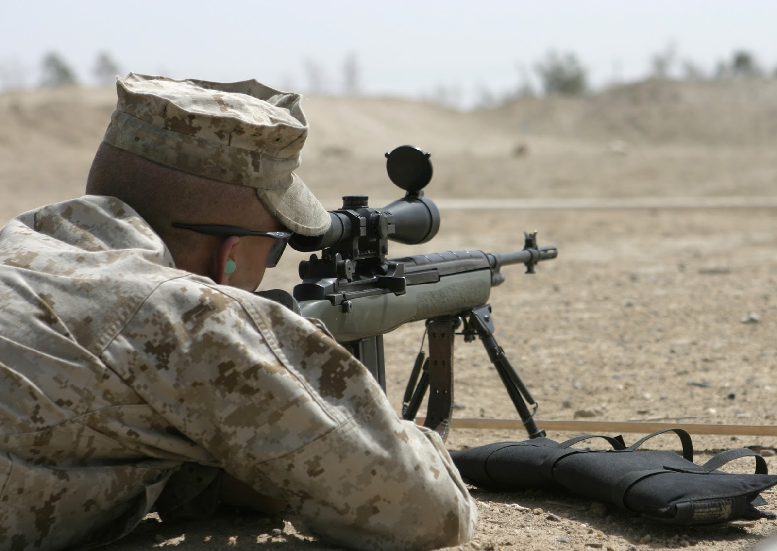 The American Cowboy Chronicles: The M14 Rifle - Part One M14 Sniper Rifle Usmc