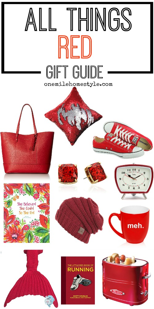 All things red gift guide, for perfect gifts for any occasion!