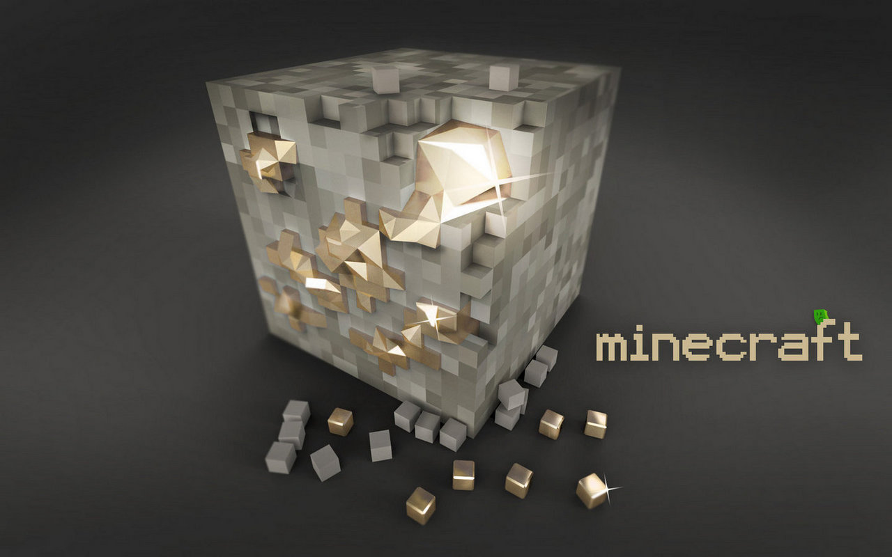 Desktop Hub: Minecraft Iron Ore