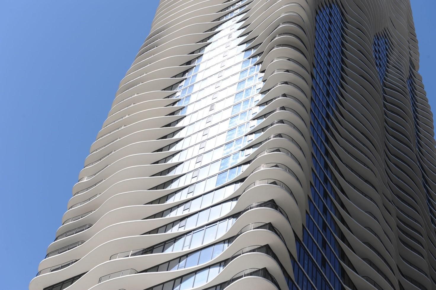 Aqua tower di chicago l edificio pi alto al mondo mai for Piani di costruzione dell edificio