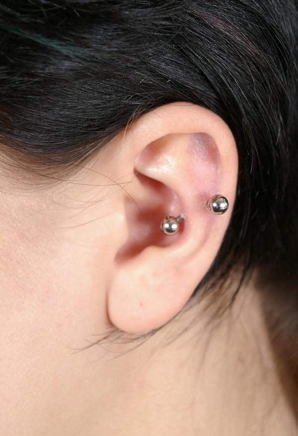 Pierced: Ear Piercings Ear Piercings Cartilage