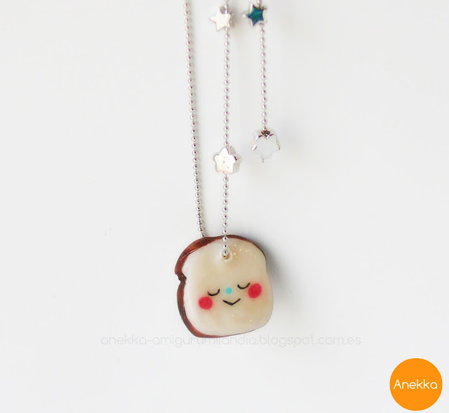 porcelain necklace sandwich