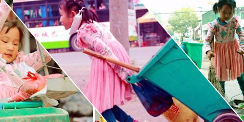 Xia Meiling, Gadis Cilik Penjaga Kebersihan