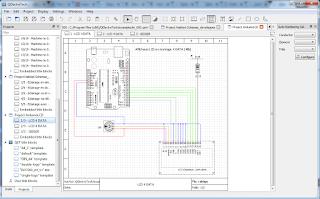 Screenshot 6 Qelectrotech Software Mengambar rangkaian listrik