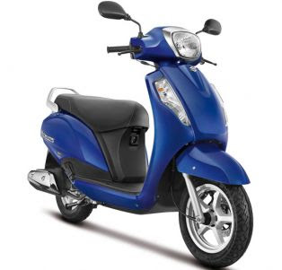 Suzuki Access 125 right side front view
