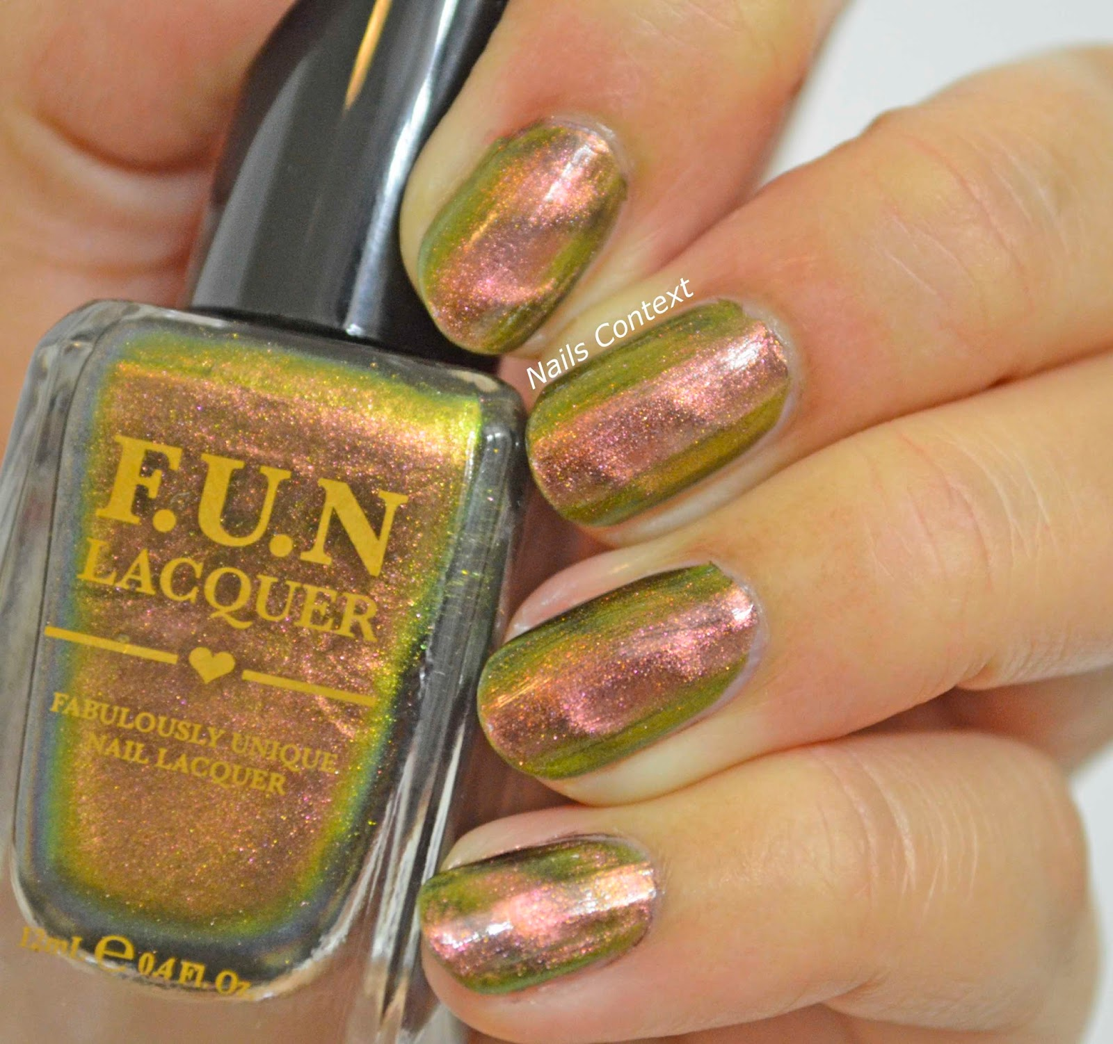 Nails Context: Fun Lacquer Magnetic Polishes
