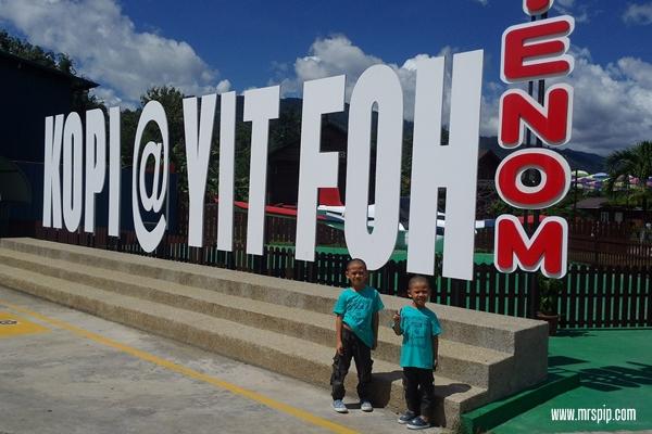 Jalan jalan Tenom di Kopi Yit Foh Tenom