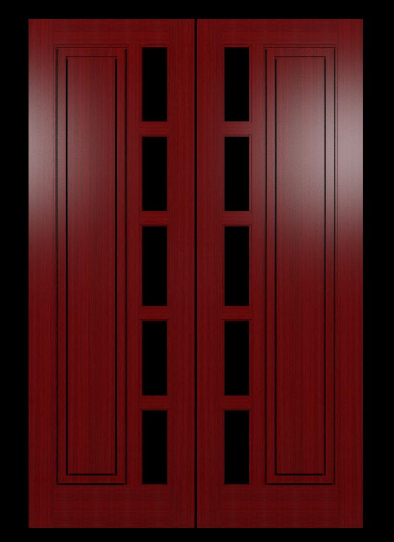 Model Pintu Minimalis 2 Daun
